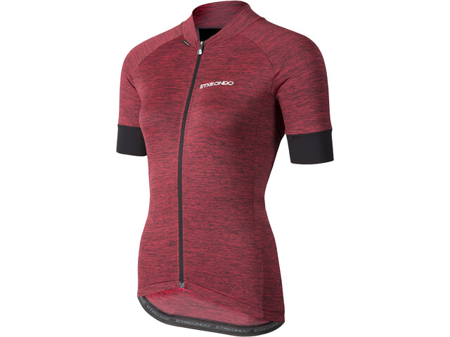 Etxeondo Terra Maillot manches courtes Femme, red-black